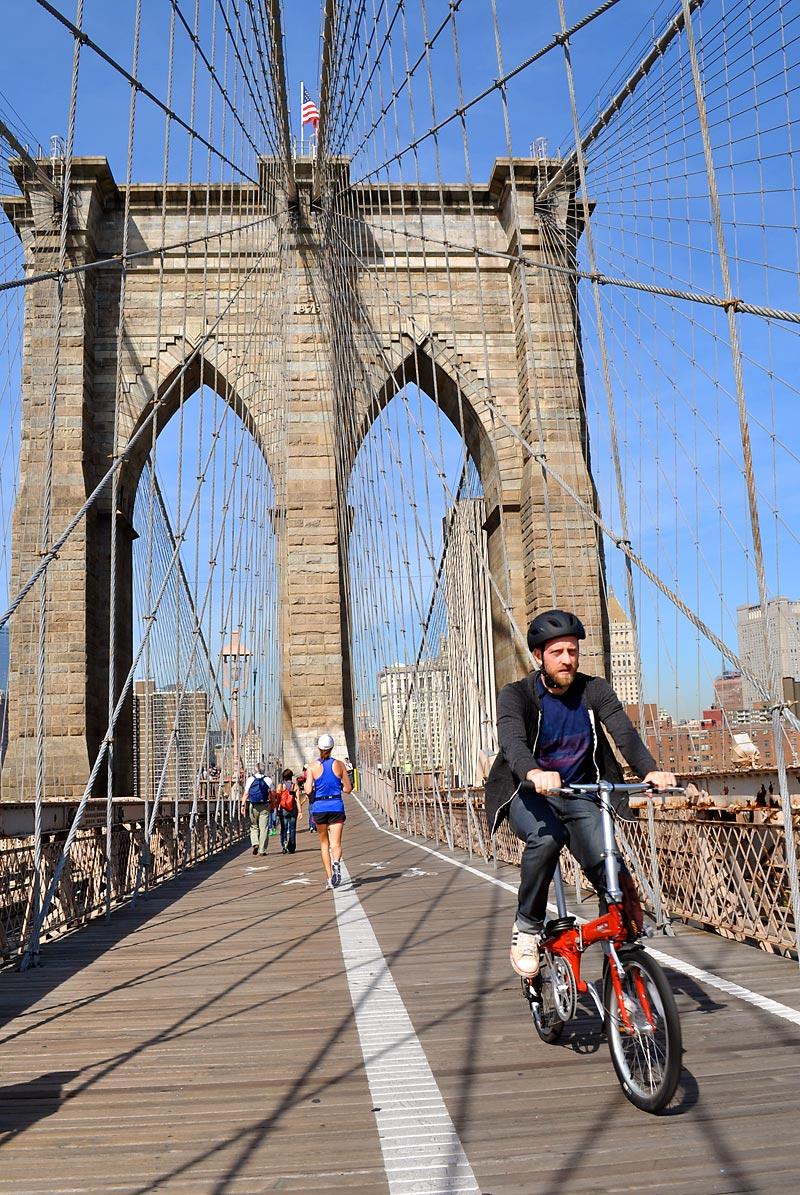 A walk across the Brooklyn Bridge; click for previous post
