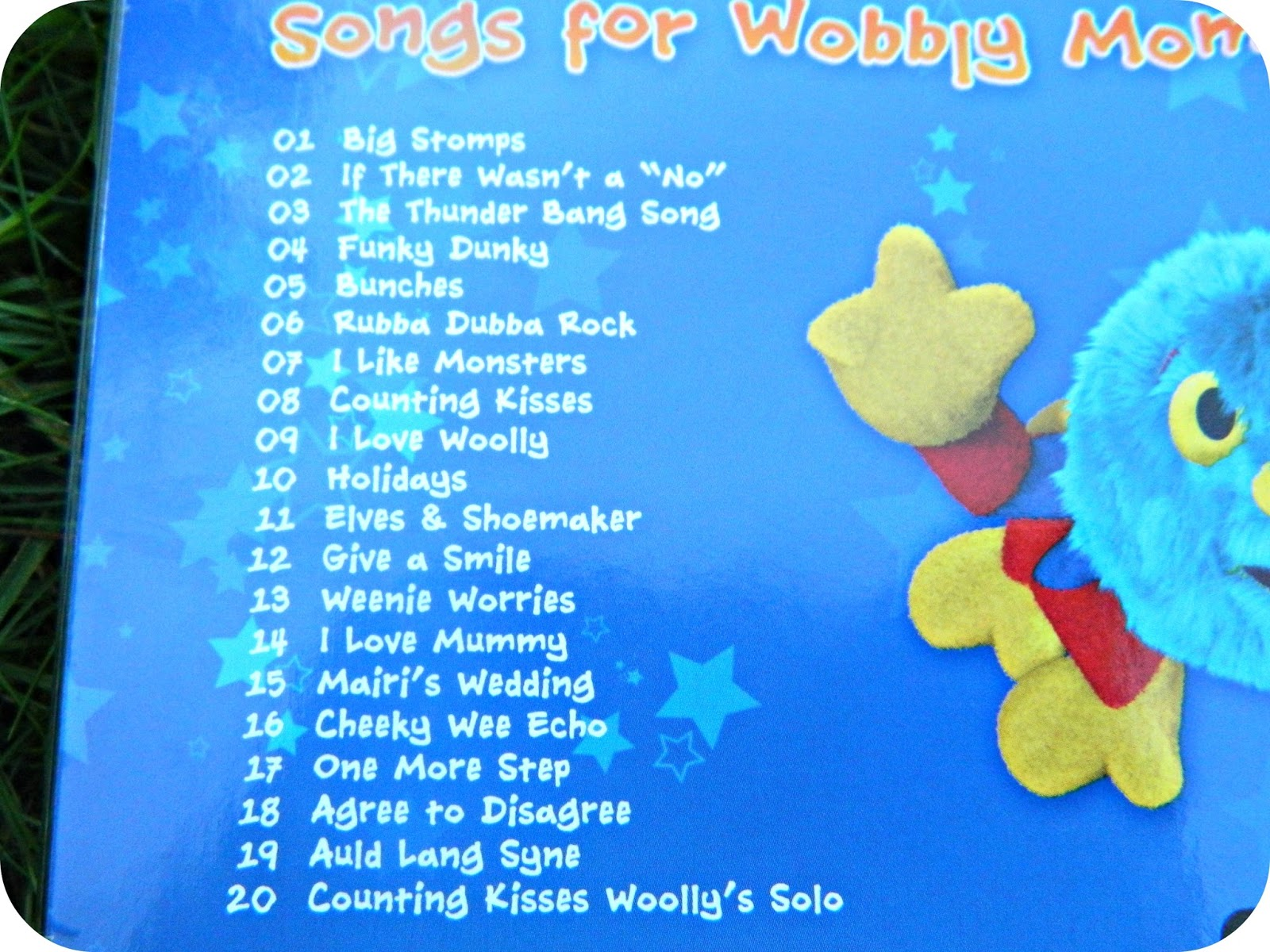 Woolly & Tig Songs for Wobbly Moments CD Track Listing