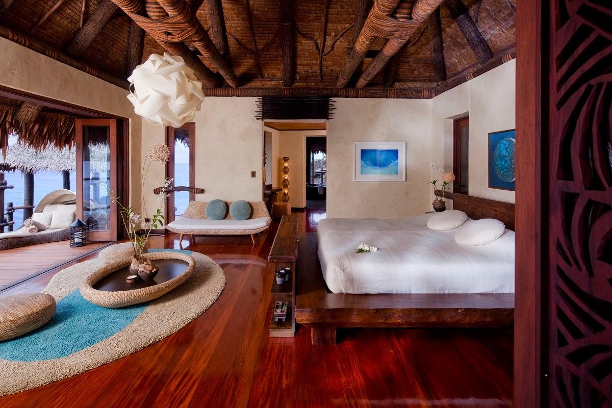 Tropical Luxury Hotel Bedroom : Passion For Luxury : Laucala Island - Fiji
