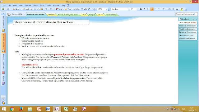 Microsoft Office OneNote, Lebih Dari Catatan Elektronik