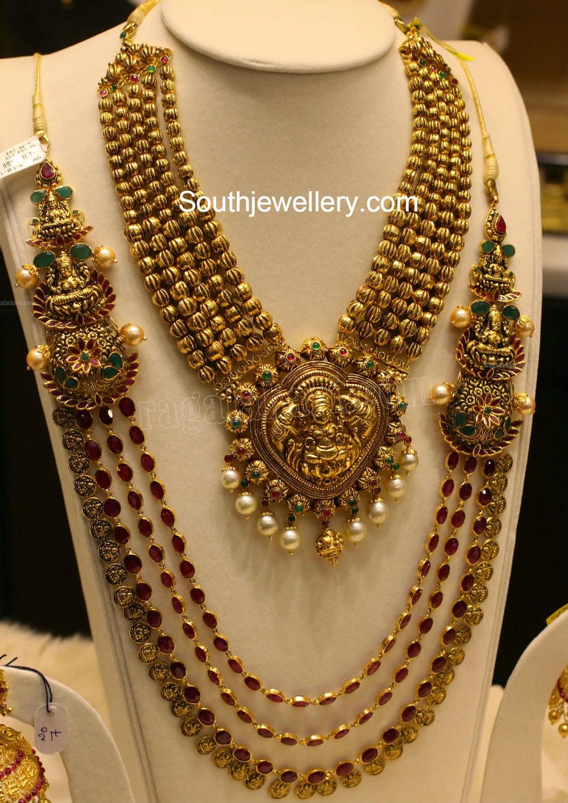 latest temple jewellery designs