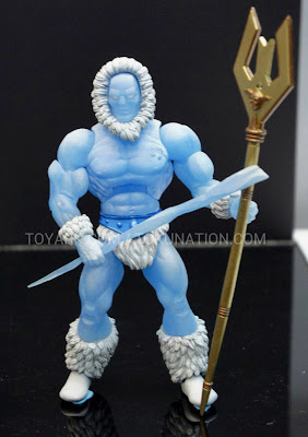 Mattel Matty Collector 2013 Toy Fair Display - Masters of the Universe MOTU Classics Icer figure