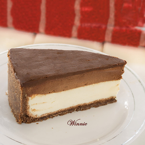 Four layers Chocolate Cheesecake