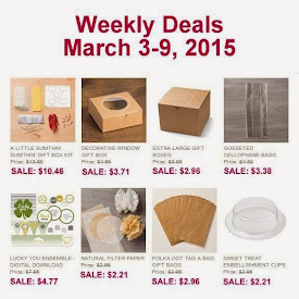 Weekly Deals Sale!  Mar 3 to 10