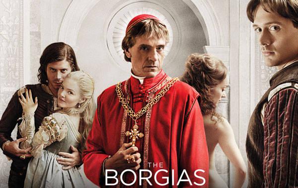 Seriados The Borgias, algumas anotações