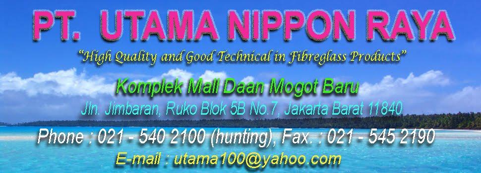 PT. UTAMA NIPPON RAYA : Chemical Storage Tank, Water Storage Tank, Chemical Tank, Mixing Tank
