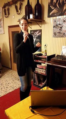 Marianna vocalist... al cacciucco party