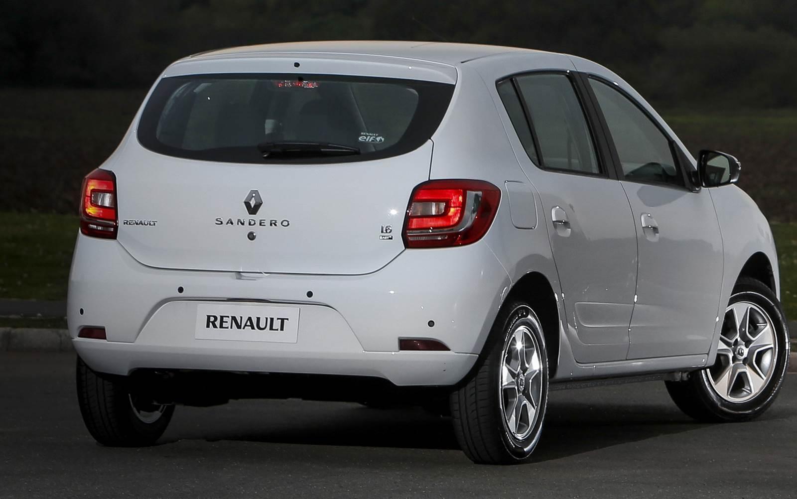 Renault Sandero 1.6 - 10º carro mais vendido