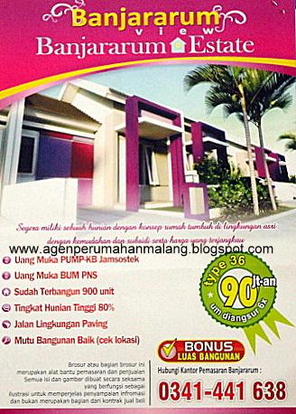 Perumahan Banjararum View dan Banjararum Estate - Malang - 2012