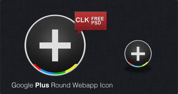 Google+ Icons Download by dev-john