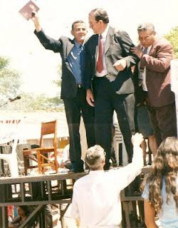 Eu Charles Netto com o Pastor Elci AD