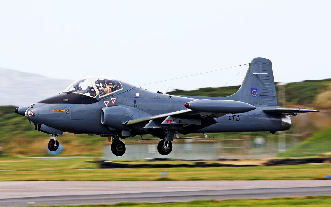 BAC 167 Strikemaster Jet Trainer Wallpaper 3