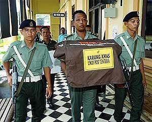 Karung khas undi pos tentera