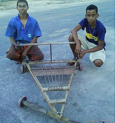 Well-known Jovens projetistas resgatam o antigo carrinho de rolimã em Socorro  MN37
