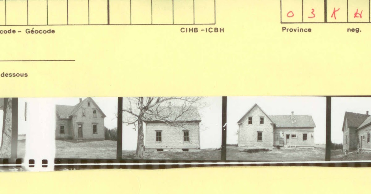 P e i heritage buildings cihb joe kinch homestead for Cihb