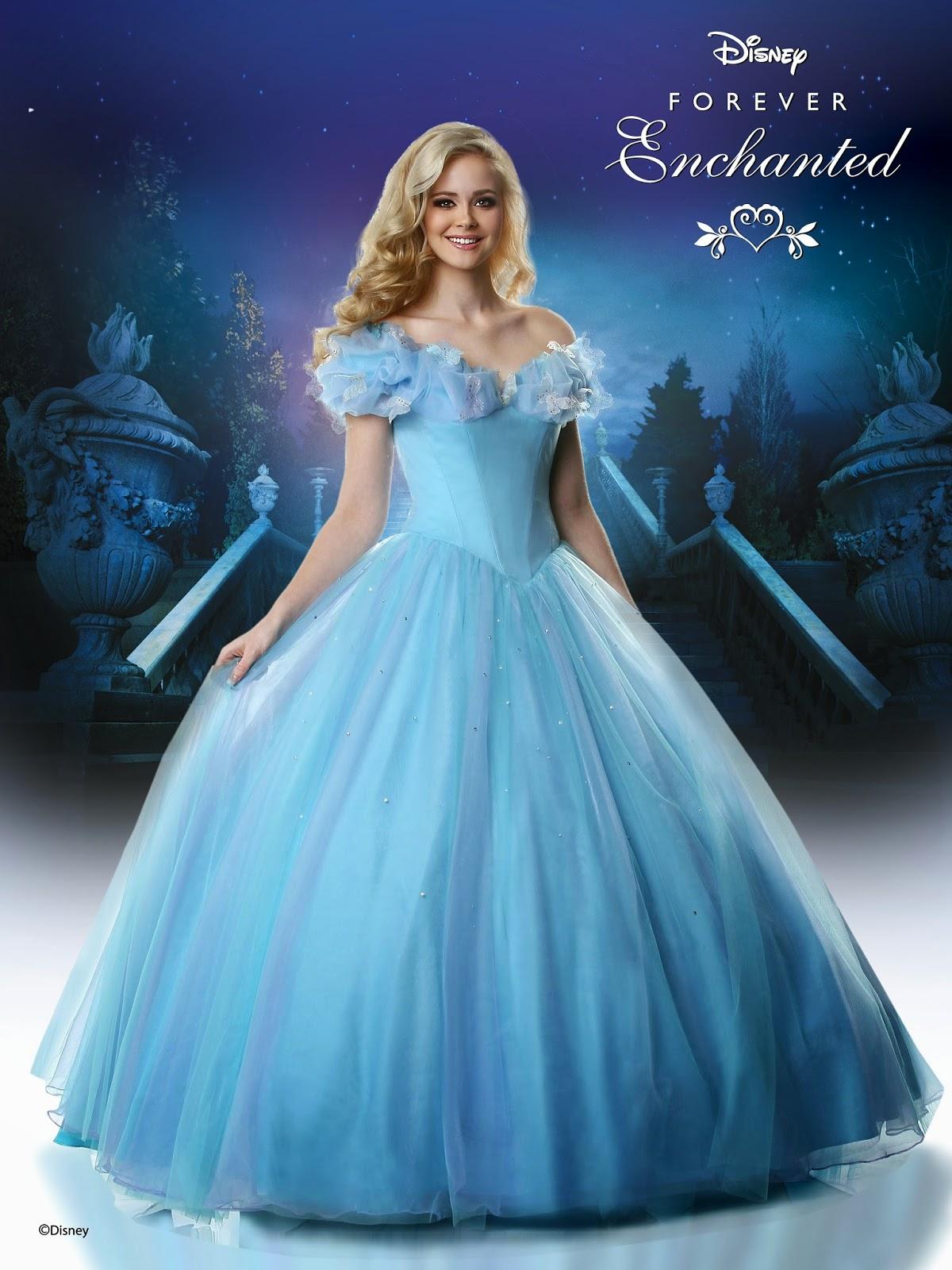 Disney Forever Enchanted Cinderella prom dress showcased during ...