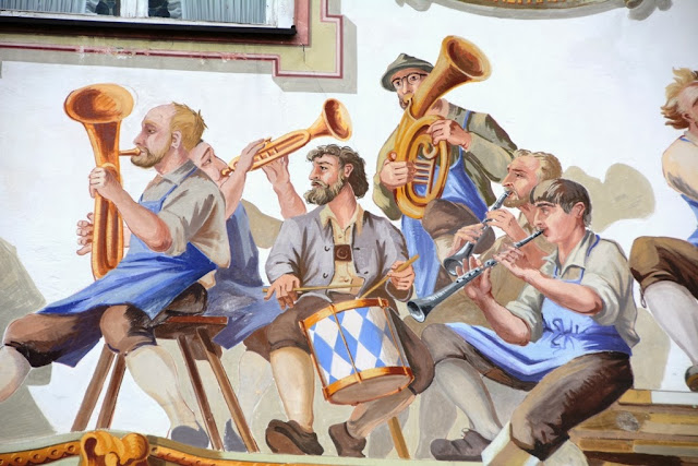 Oberammergau farmers orchestra