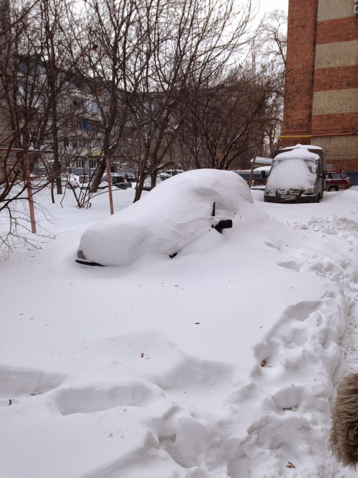 Снег в Ростове 2014 Январь