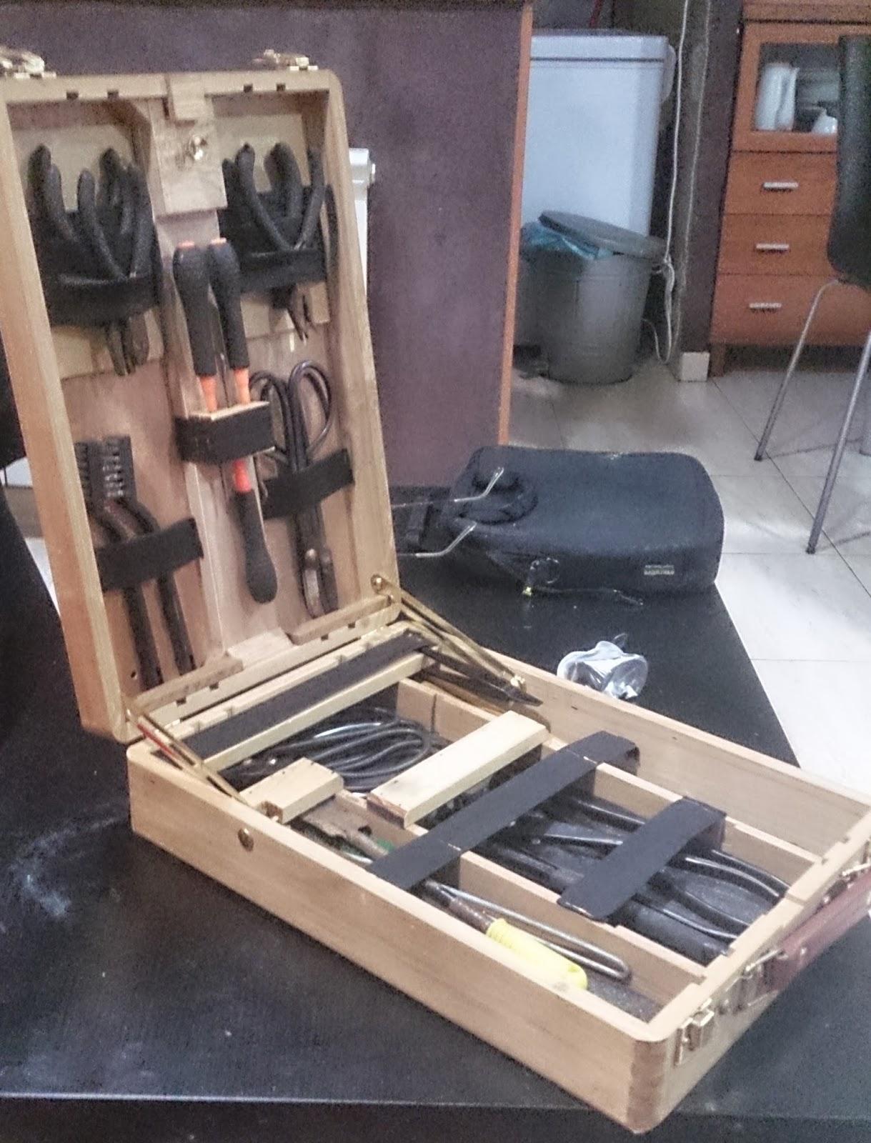 Expr sion bons i la caja de herramientas i for Bricolaje casero