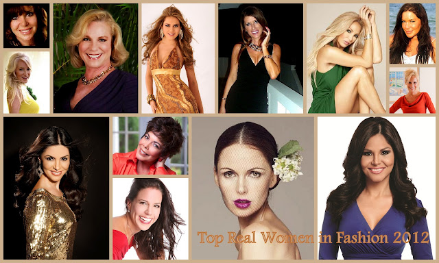 Hot Topics:Top Real Women in Fashion 2012