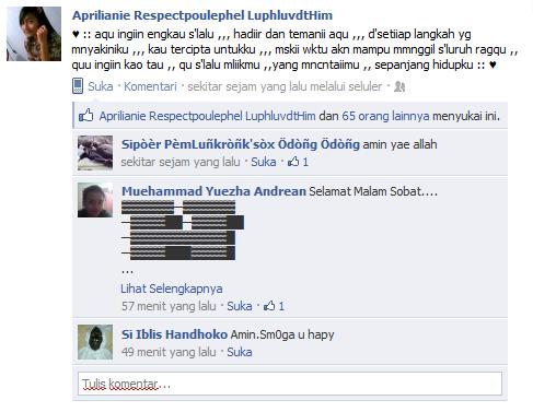 facebook status galau mungkin hanya seperti itu saja beberapa contoh