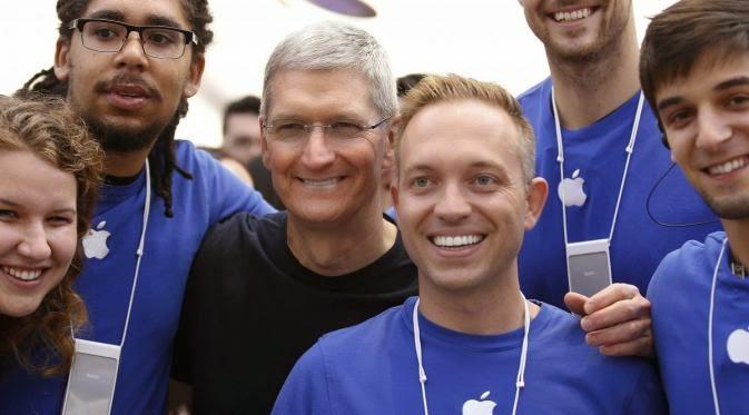 Yuuk Intip Gaji Para Karyawan Apple