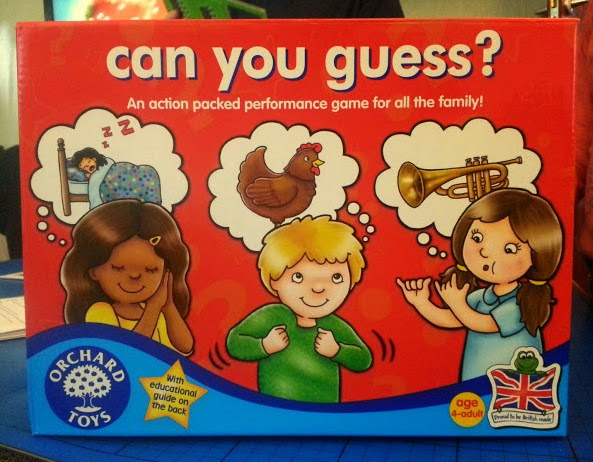 Can You Guess? game from Orchard Toys review