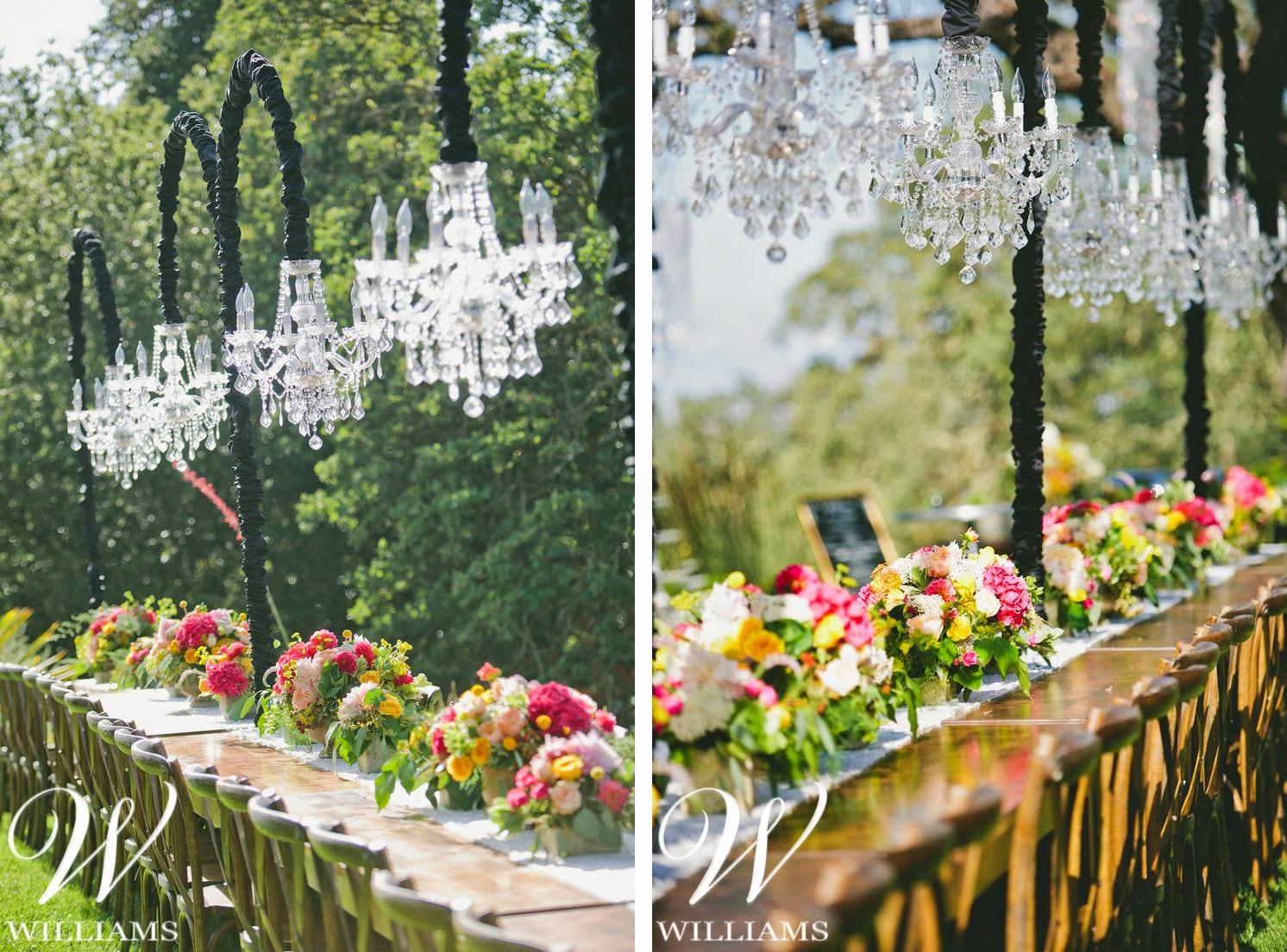 williams party rentals rustic chic backyard wedding