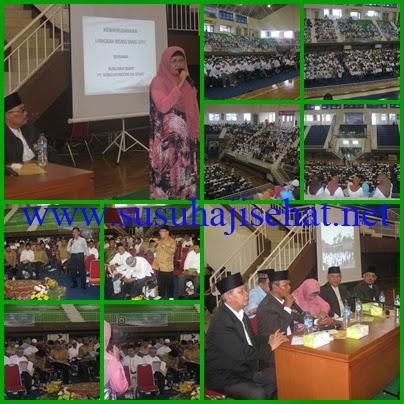 Pertemuan Susu Haji Sehat dengan Dewan Mesjid Indonesia di Jakarta