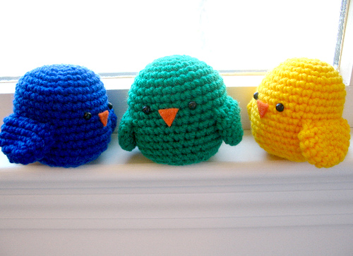 Crochet Amigurumi Birds : 2000 Free Amigurumi Patterns: Birds of a Feather
