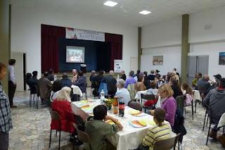 mensa della Comunità di Sant'Egidio a Lucca