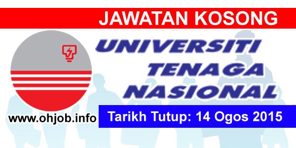 Jawatan Kerja Kosong Universiti Tenaga Nasional (UNITEN) logo www.ohjob.info ogos 2015