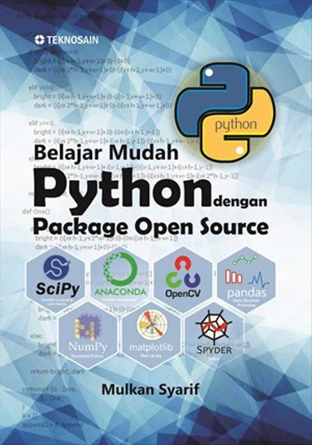 Buku Belajar Mudah Python dengan Package Opensource