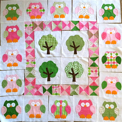 Lakehouse Owl Applique Quilt