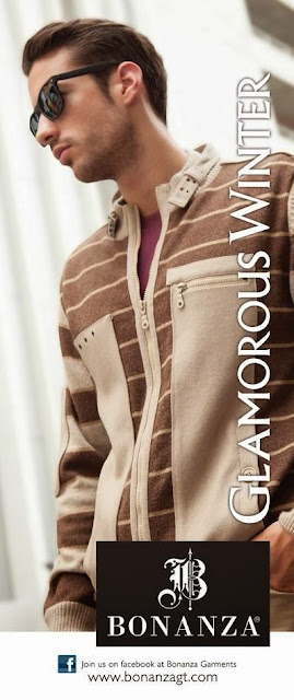 Bonanza Stylish Glamorous Winter Collection 2-13-14 For Girls Women & Men