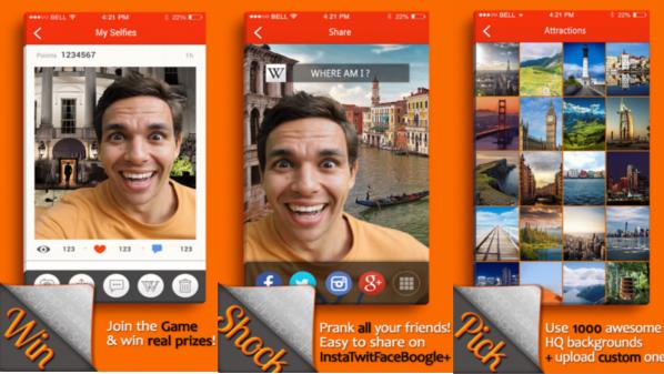 تطبيق SelfieApp