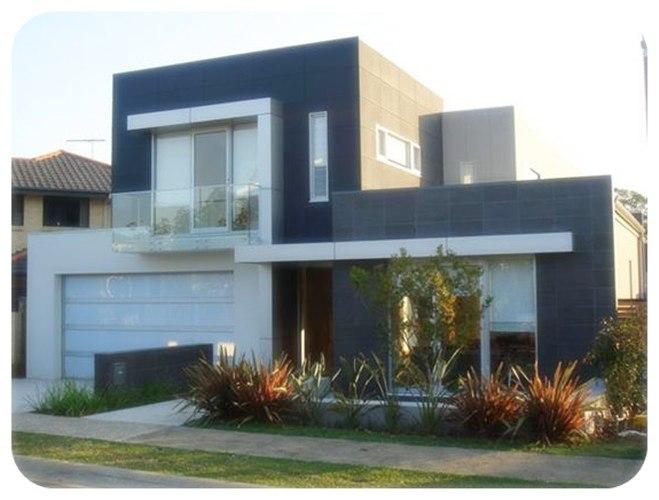 Gambar rumah tingkat minimalis modern 2015