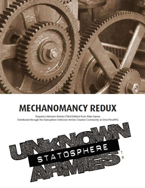 Mechanomancy Redux
