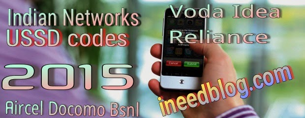 Most useful Indian USSD codes for all network.