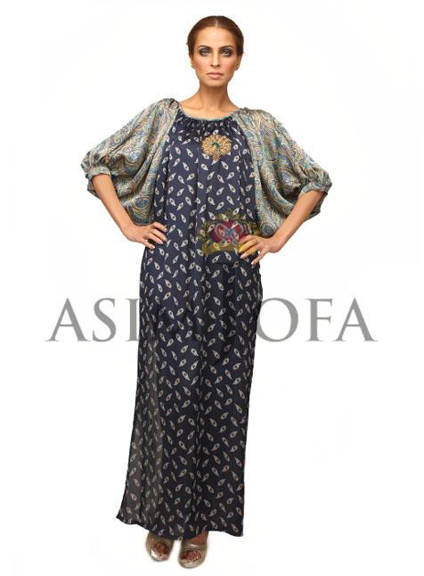 AsimJofaSemiFormaldresses201328629 - Asim Jofa Semi Formal Long kameez Designs 2013 | Asim Jofa 2013