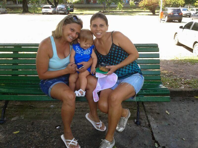 Eu,minha princesa e minha irmã