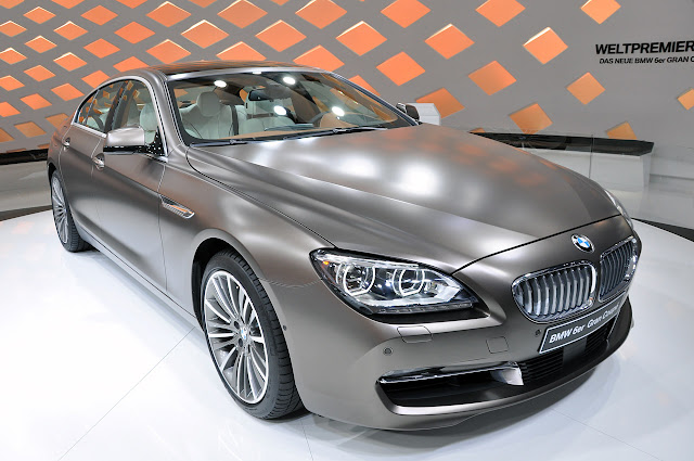 BMW M6 side picture