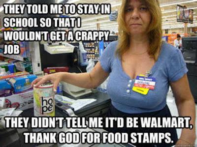Walmart, medicaid, food stamps, poor health, obesity, disease, underpaid