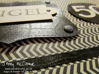 Faux Leather using Stampin' Up! products