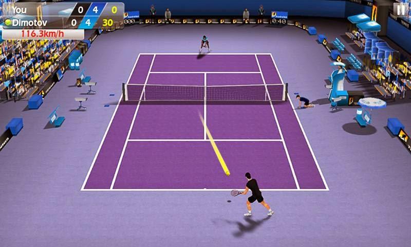 Fiske Tenisi - Tennis 3D Android Apk resimi 4