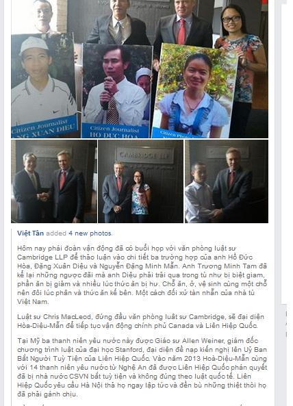 Việt Tân và ngón nghề biến tội phạm thành chính khách?