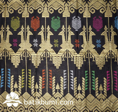 Kain batik Unggul Jaya Bali Prada