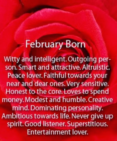february born personality
