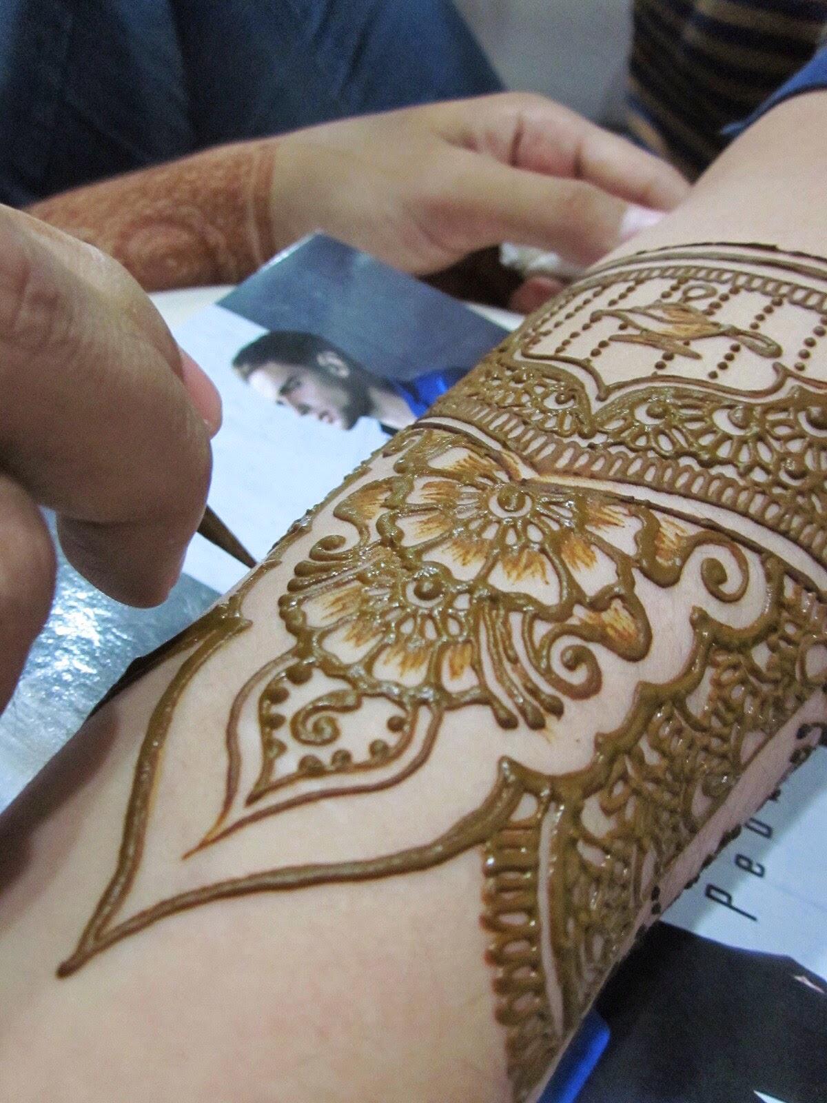 6 Awesome Mahendi Lengan Ideas Teknik Menggambar Henna Atau Inai