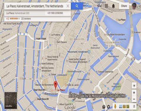 Peta Restoran La Place